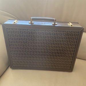 Fendi briefcase- VINTAGE NEW AUTHENTIC